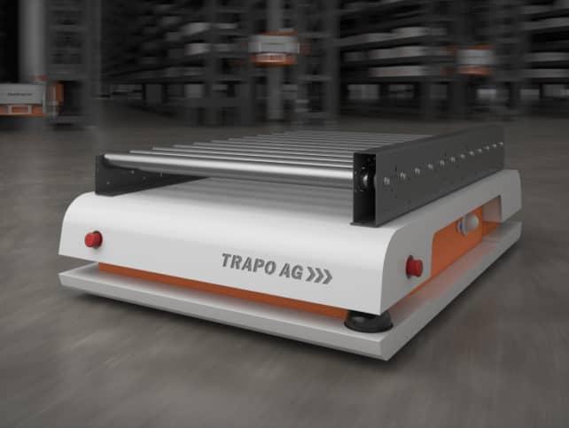 Fahrerlose Transportsysteme TRAPO AG
