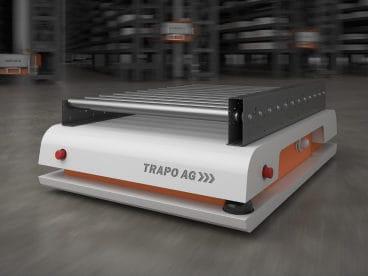 Fahrerlose Shuttle TRAPO AG