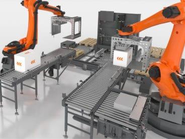 Roboter Palettierer TRAPO AG