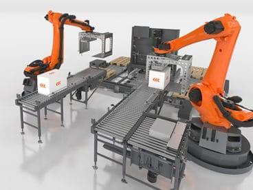 Roboter Palettierer