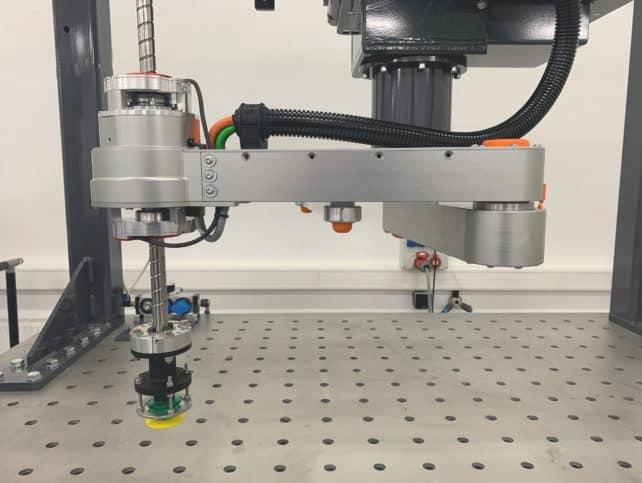 Spezielle, inhouse entwickelte Greifertechnologie optimiert den Kinematik-Picker für seinen Einsatzbereich.