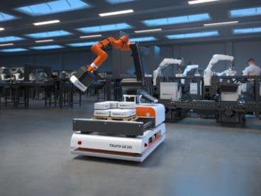 Mensch-Roboter-Koloaboration